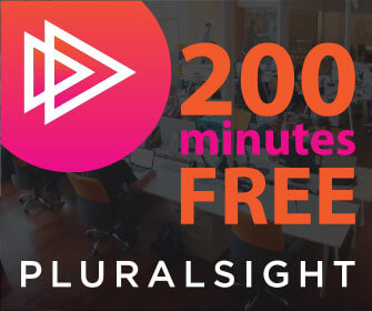 FREE 200minutes of Pluralsight