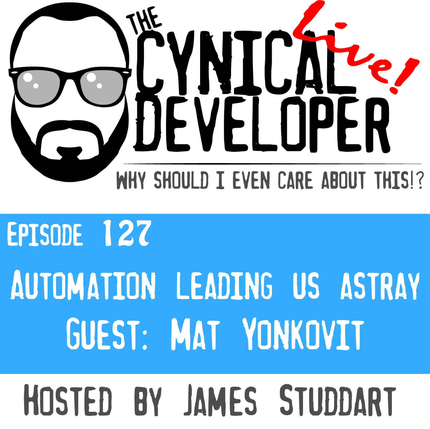 Episode 127 - Automation leading us astray - Percona Live Europe 2019
